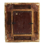 Olio su pannello di Henri Jozef DILLENS Scuola belga 19-6
