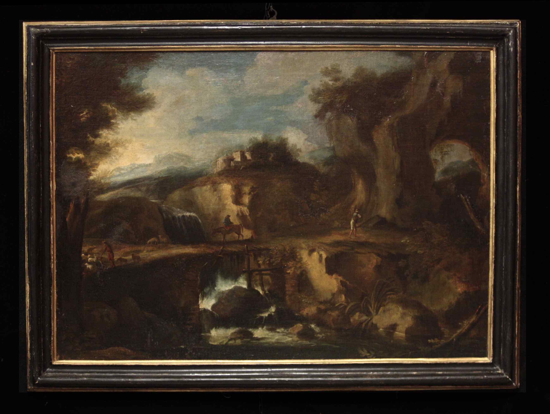 Pietro Montanini (Perugia 1626-1689) - Le cascatelle di Tiv
