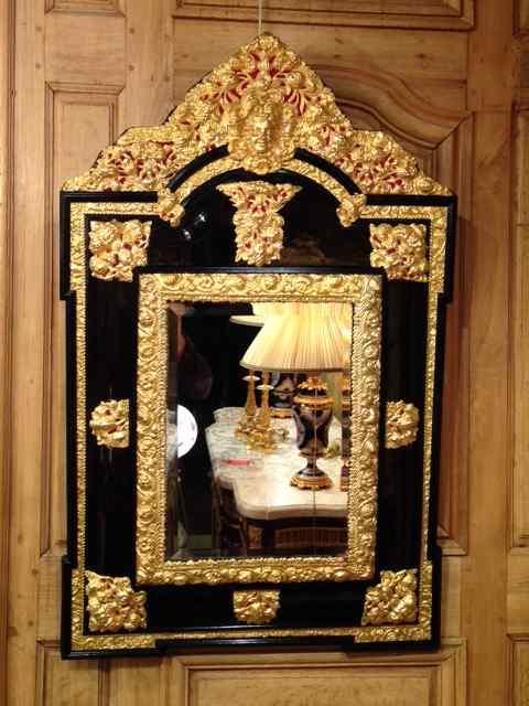 Miroir écaille Brune Louis XIII