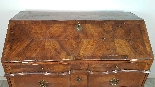 poitrine antique avec la première moitié rabat de 1700 Sec. -3