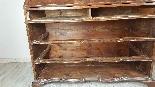 Cassettone antico con ribalta prima metà 1700 Sec. XVIII-12