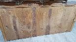 poitrine antique avec la première moitié rabat de 1700 Sec. -11