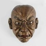 Японская деревянная маска, Ainu North Japan 19th Century.-3