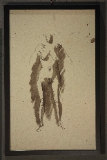 Pietro Annigoni (Milan1910-Florence1988) -Couple of watercol-2
