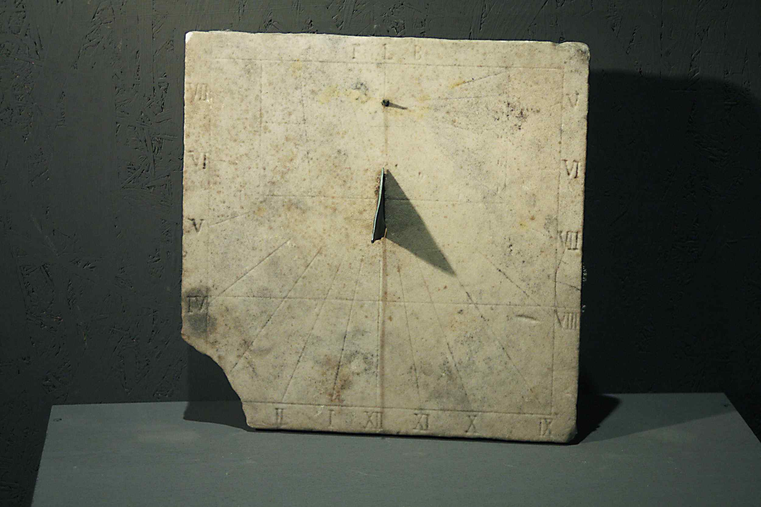 Marble Sundial, Central Italy, 1600