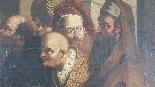 Quadro antico dipinto olio su tela Epoca Sec. XVII-0