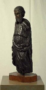Antica scultura in legno del XV secolo-3