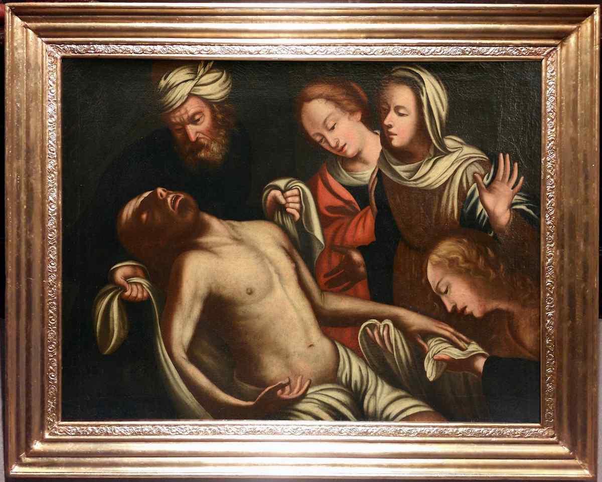 Il Compianto di Cristo - Maestro veneto del XVI secolo