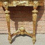 Antique Louis XVI giltwood Console - 19th century-7