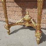 Ancien Console doré Louis XVI - 19ème siècle-9