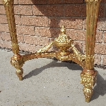 Antique Louis XVI giltwood Console - 19th century-9