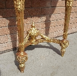 Antique Louis XVI giltwood Console - 19th century-8