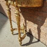 Antique Louis XVI giltwood Console - 19th century-10