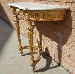 Antique Louis XVI giltwood Console - 19th century-4