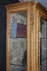 Armoire en bois doré du XIXe siècle-3
