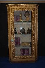 Armoire en bois doré du XIXe siècle-0