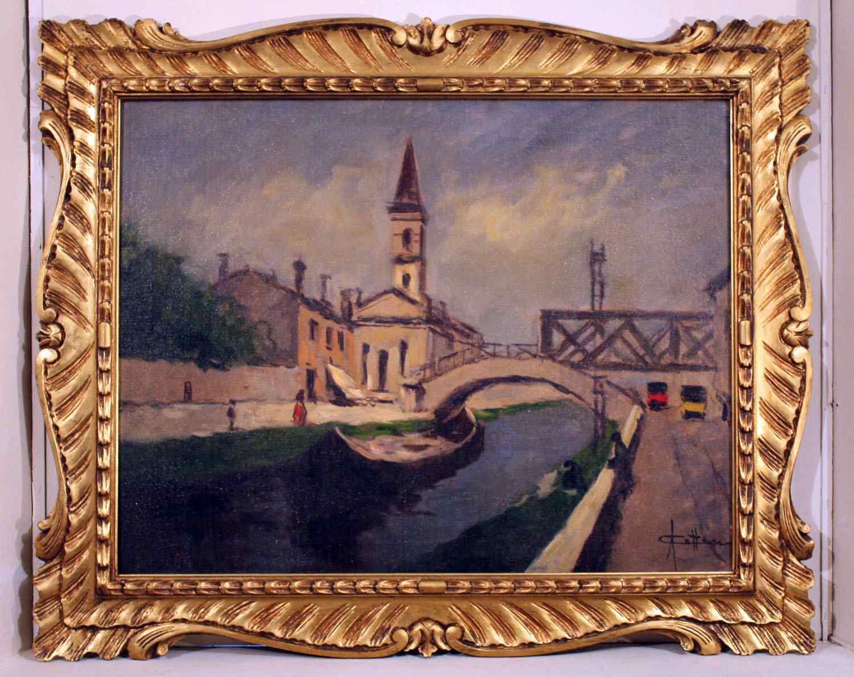 Cattaneo Achille (1872-1931) - Navigli