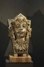 Face of a girl in terracotta, Sec.XVII-1