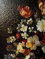 Ecole Anversoise XVIIème Bouquet de fleurs dans un vase-5