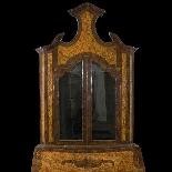 Commode avec vitrine du 18ème siècle-1