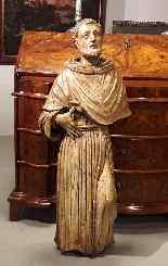 Large wooden sculpture of the seventeenth century - San Fran-4