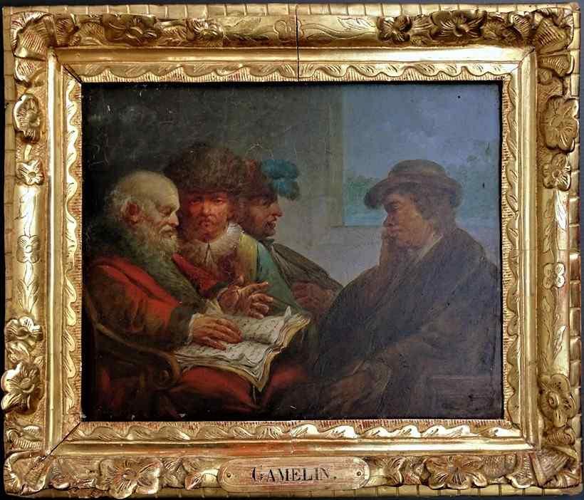 Jacques GAMELIN 1738-1803 Le conseil des Sages