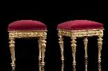 Pair of  18th century italian stools-0