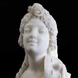 Ambrogio Colombo, buste en marbre blanc statuaire-1