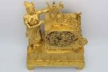 Antico Orologio a Pendolo Impero in bronzo - XIX secolo-6