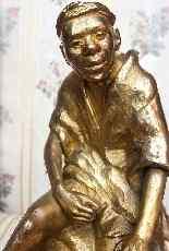 René Choquet, Orientalista di bronzo dorato, 1903, XX secolo-13