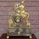 Antico Orologio a Pendolo Impero in bronzo - XIX secolo-10