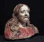 Buste du Christ en terre cuite, sec. XVI-1