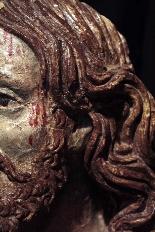 Buste du Christ en terre cuite, sec. XVI-4