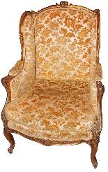 paire de fauteuils antiques dorés du 19ème siècle-5