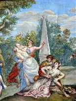The abduction of Sabines French School 18th-13