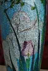 Rare paire de grands vases Ginbari, Japon XIXème siècle-4