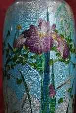 Rare paire de grands vases Ginbari, Japon XIXème siècle-8