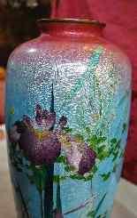 Rare paire de grands vases Ginbari, Japon XIXème siècle-9