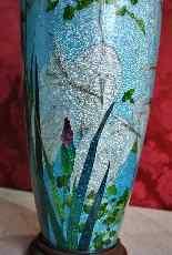 Rare paire de grands vases Ginbari, Japon XIXème siècle-7