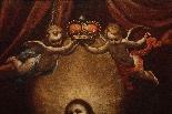 ASTOLFO PETRAZZI (SIENA 1580-1653) MADONNA ENFANT ET ANGES-3