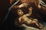 ASTOLFO PETRAZZI (SIENA 1580-1653) MADONNA ENFANT ET ANGES-4