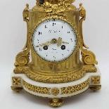 Antico Orologio Pendolo Napoleone III in bronzo - XIX secolo-6