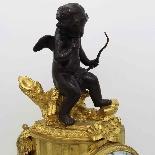 Antico Orologio Pendolo Napoleone III in bronzo - XIX secolo-1