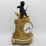 Antico Orologio Pendolo Napoleone III in bronzo - XIX secolo-7