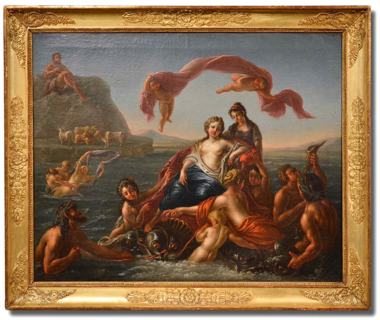 Le triomphe de Galatée - Nicolas Coypel (Paris 1690 - 1734)