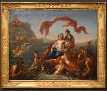 Le triomphe de Galatée - Nicolas Coypel (Paris 1690 - 1734)-10