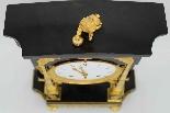 Ancien Horloge Pendule Empire en bronze et marbre - 19ème-6