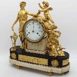 Antico Orologio a Pendolo Luigi XVI in bronzo - XVIII secolo-3