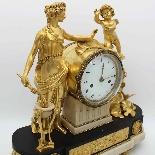 Antique Louis XVI Pendulum Clock in bronze - 18th century-8