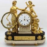 Antique Louis XVI Pendulum Clock in bronze - 18th century-10